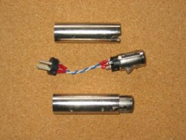 XLR Through Barrel